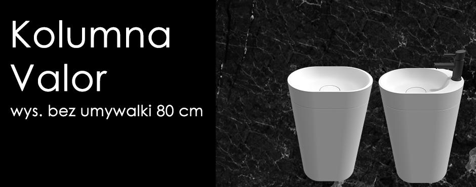 kolumna do umywalki valor
